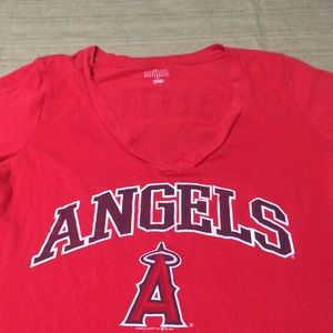 MBA ANGELS BASEBALL TEAM BEAUTIFUL TOP EXCELLENT